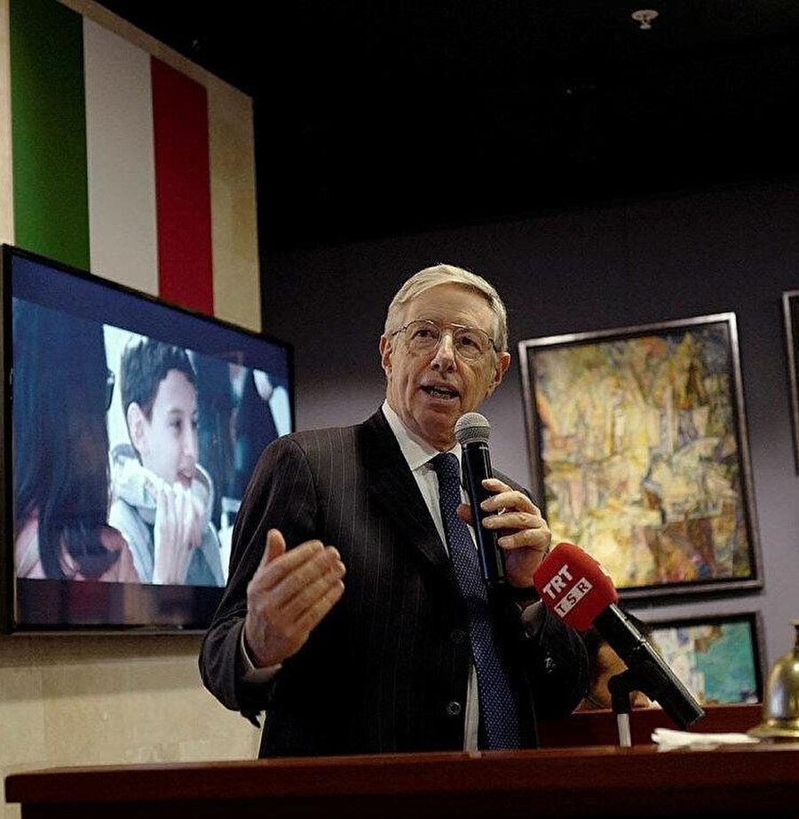 İtalya'nın Ankara Büyükelçisi Massimo Gaiani