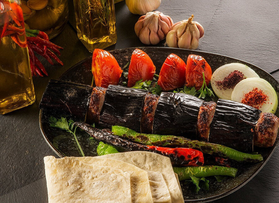 Antep - Patlıcan Kebabı.
