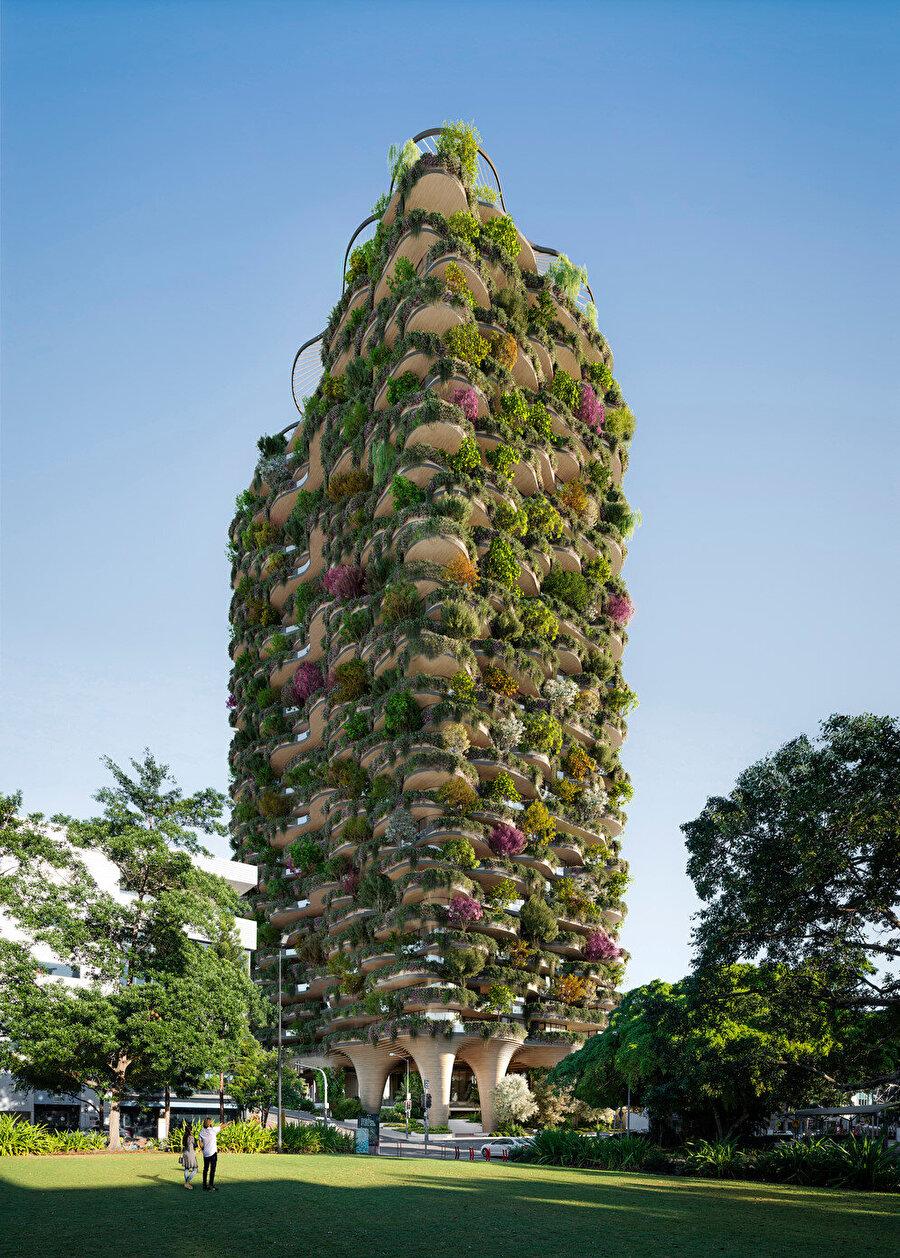 Koichi Takada Architects bu projeyle, LEED Platinum'a eş değer olan 6 yıldızlı Green Star'dan derecelendirme almayı amaçlıyor.