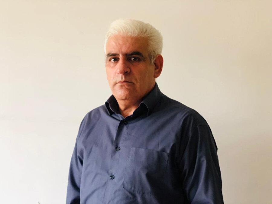 Rejim aleyhinde propaganda yapmak suçlamasıyla hakkında açılan davadan 1 yıl hapse çarptırılan Musa Ziya Gergeri.