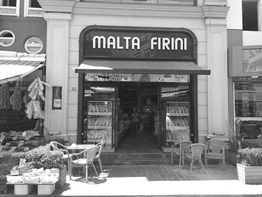Fatih'te meşhur bir fırın, Malta Fırını.