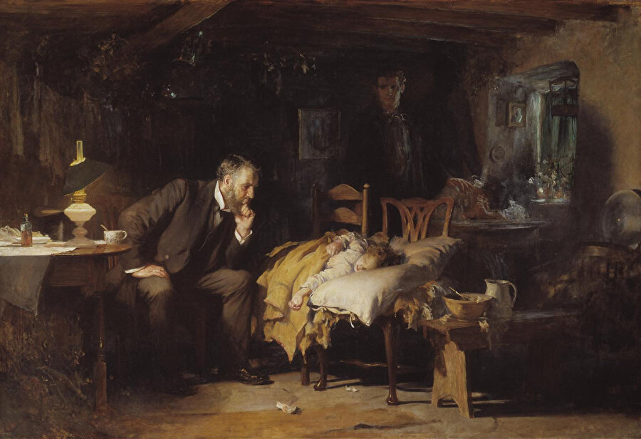 Sir Luke Fildes, The Doctor (1891)