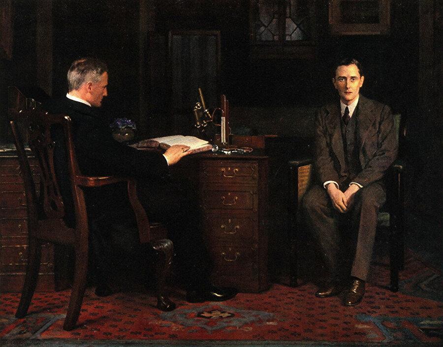 John Collier (1850–1934), The Sentence of Death (1908)