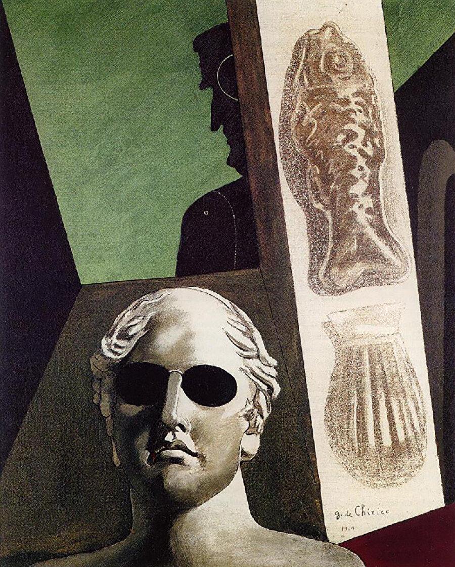 Portrait of Guillaume Apollinaire, 1914.
