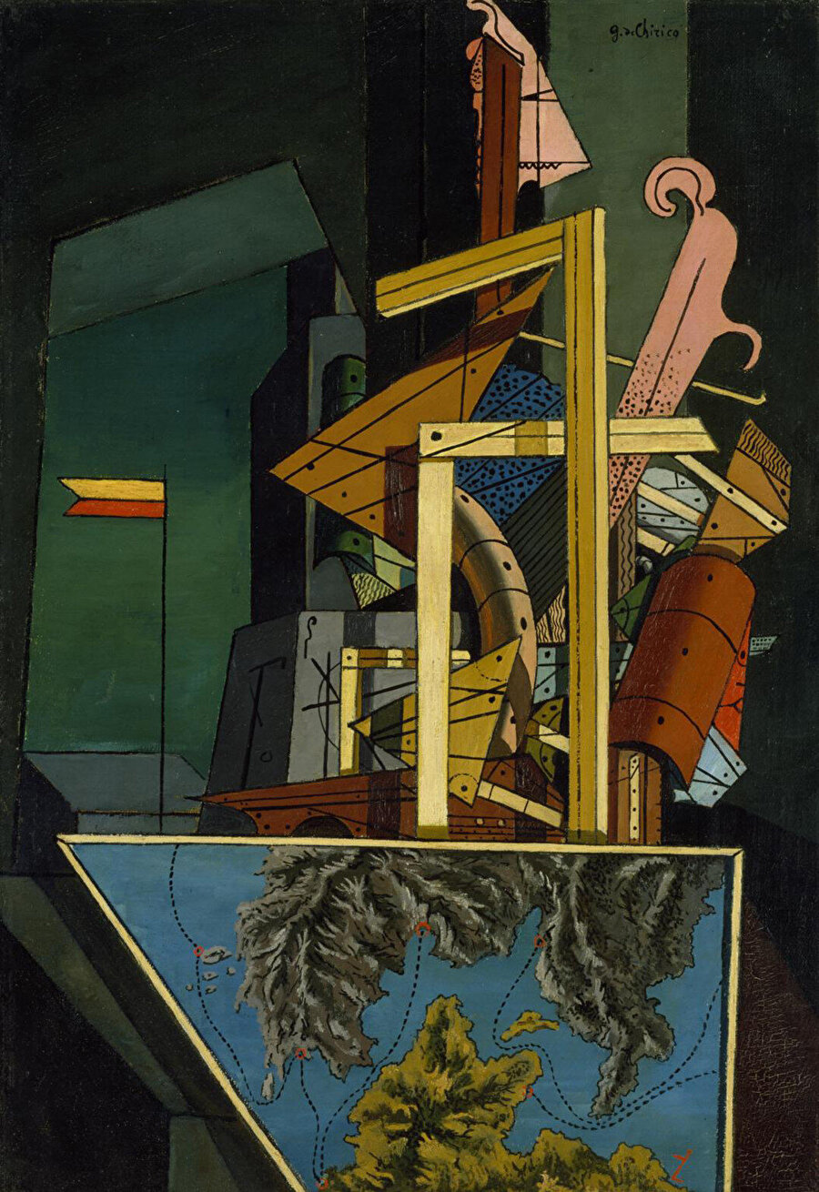 The Melancholy of Departure, 1916.