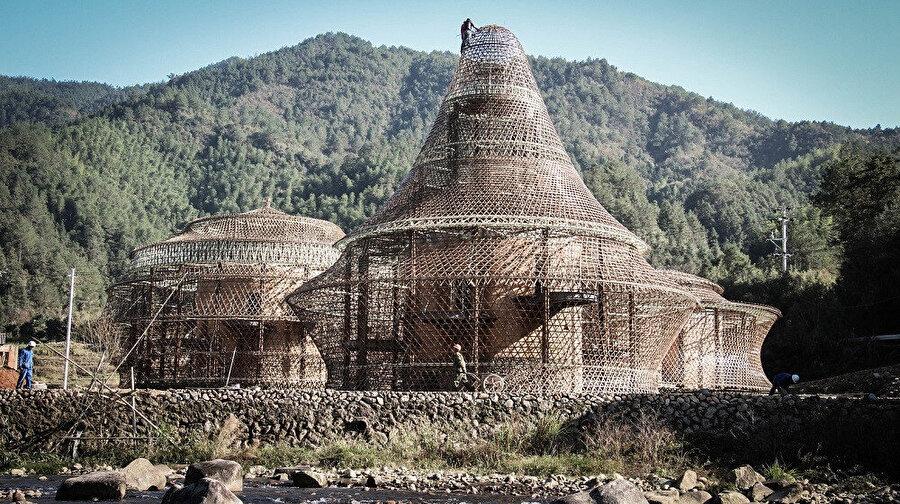 Bambu bienali, 2016 yılında Çin'de gerçekleşti.