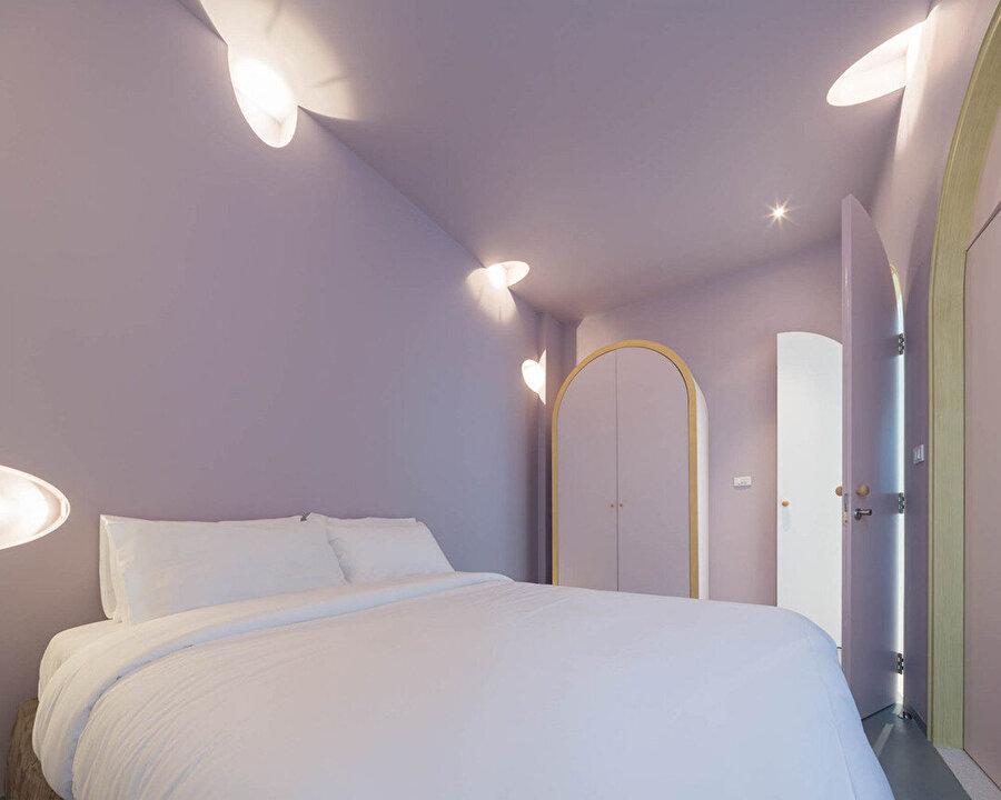 Misafir yatak odası.