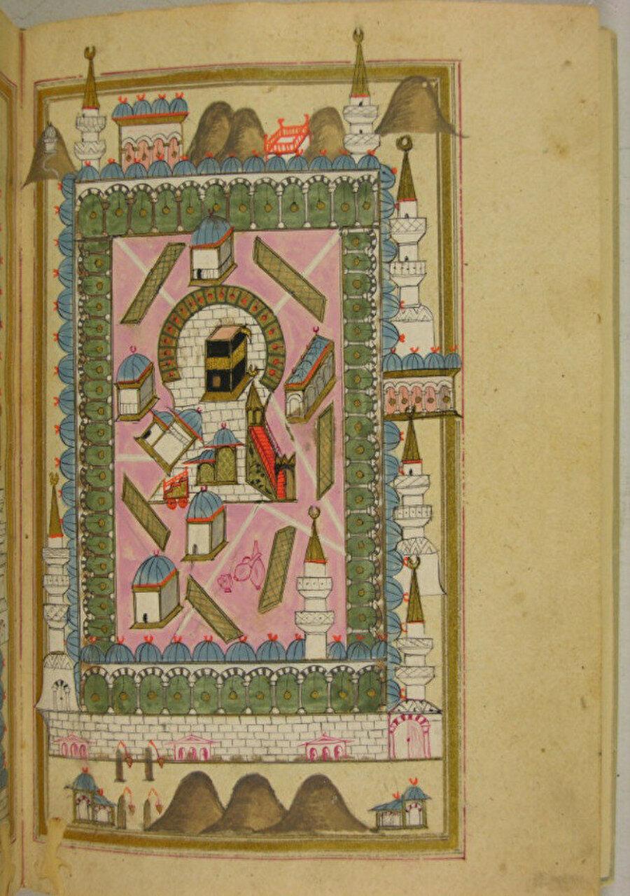 Delâilü'l-Hayrât, 1165 (1751), Topkapı Sarayı Müzesi Kütüphanesi, EH.1038