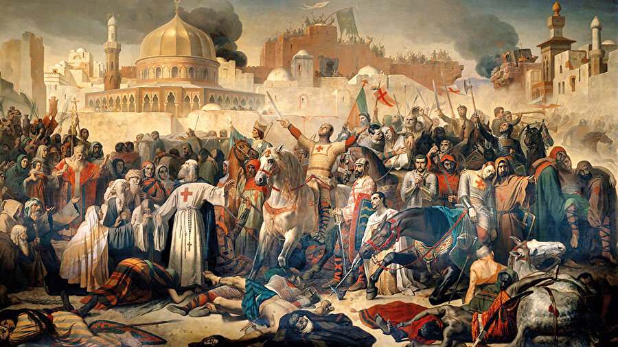 1096'da düzenlenen ilk Haçlı Seferi'nin yarısına yakını, 'Kudüs'ü almak için' ola çıkan inançlı köylülerdi.