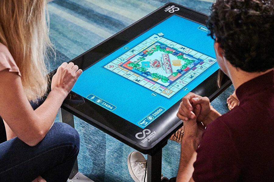 Arcade1Up'ın tasarımı Infinity Game Table.
