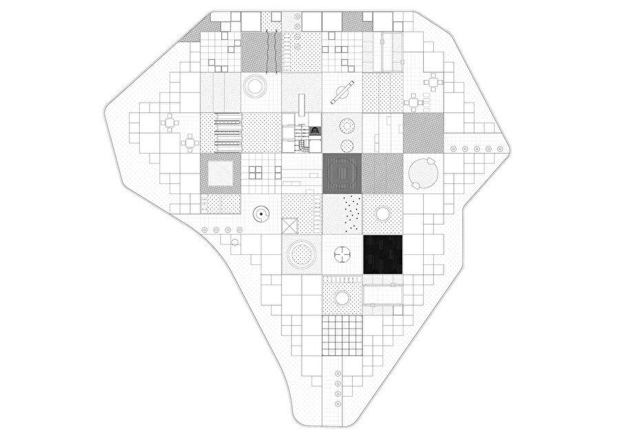 Pixeland planı.