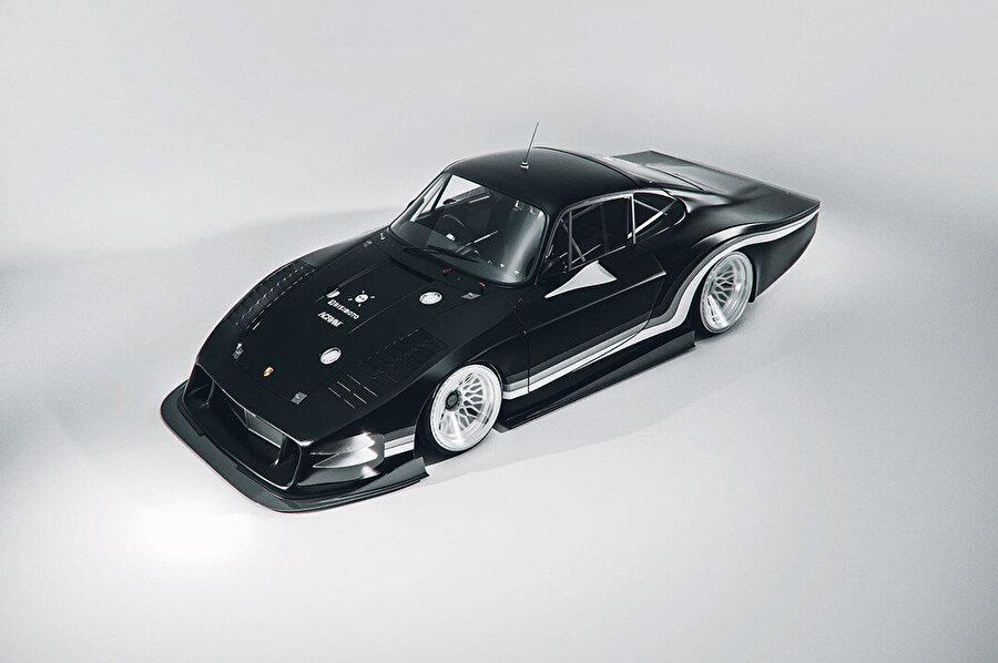 Moby X, Porsche'nin ikonik 935 Moby Dick tasarımını 21. yüzyıla taşıyor.