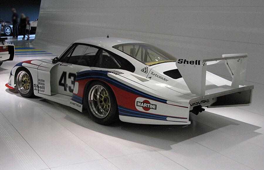 Porsche 935/78 Moby Dick'in kuyruğu.