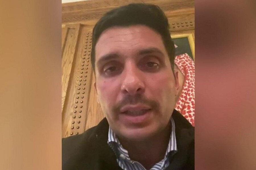 Prens Hamza, telefon ve internet bağlantınsın kesildiğini ifade etti.