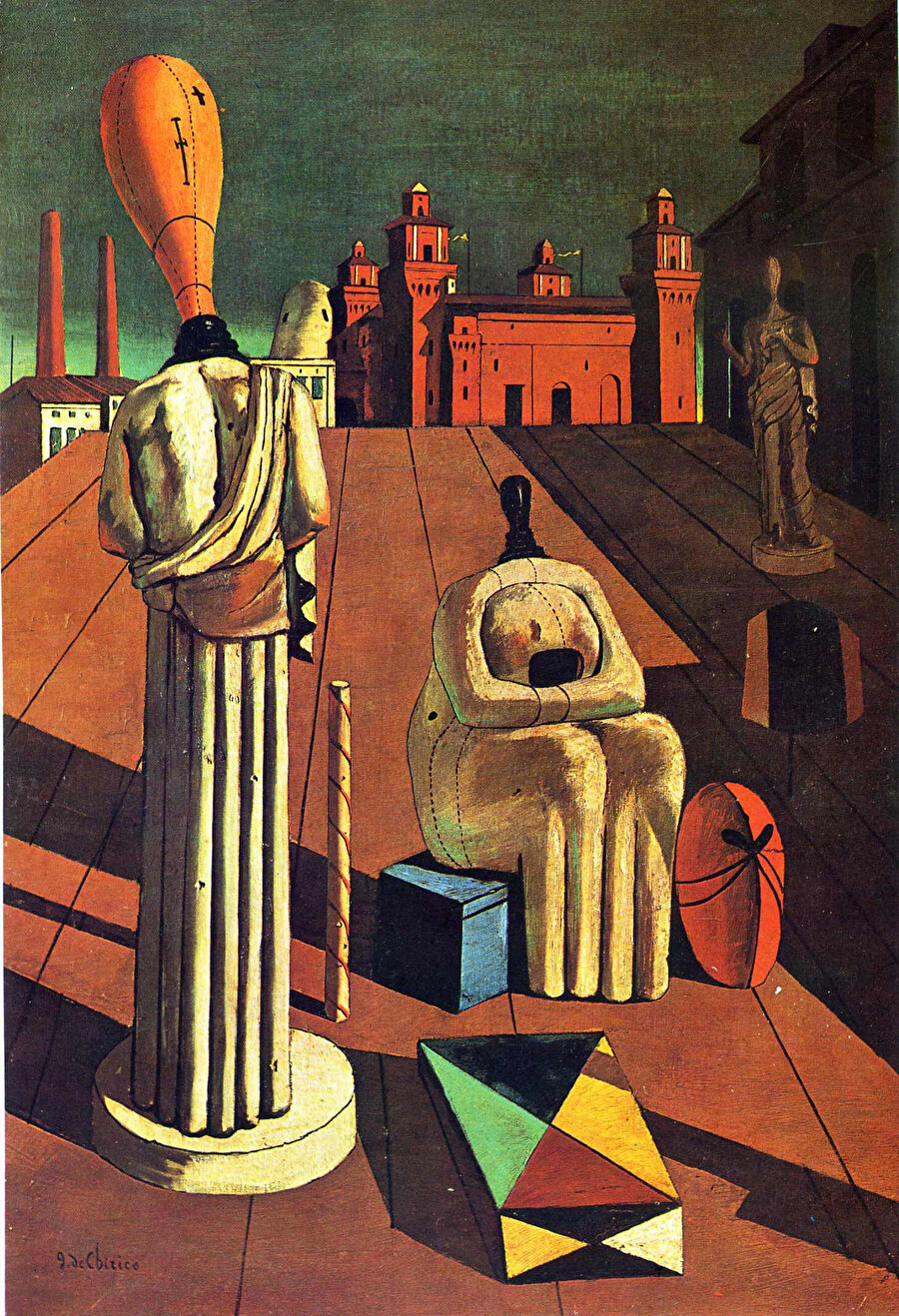 The Disquieting Muses by Giorgio de Chirico, 1947
