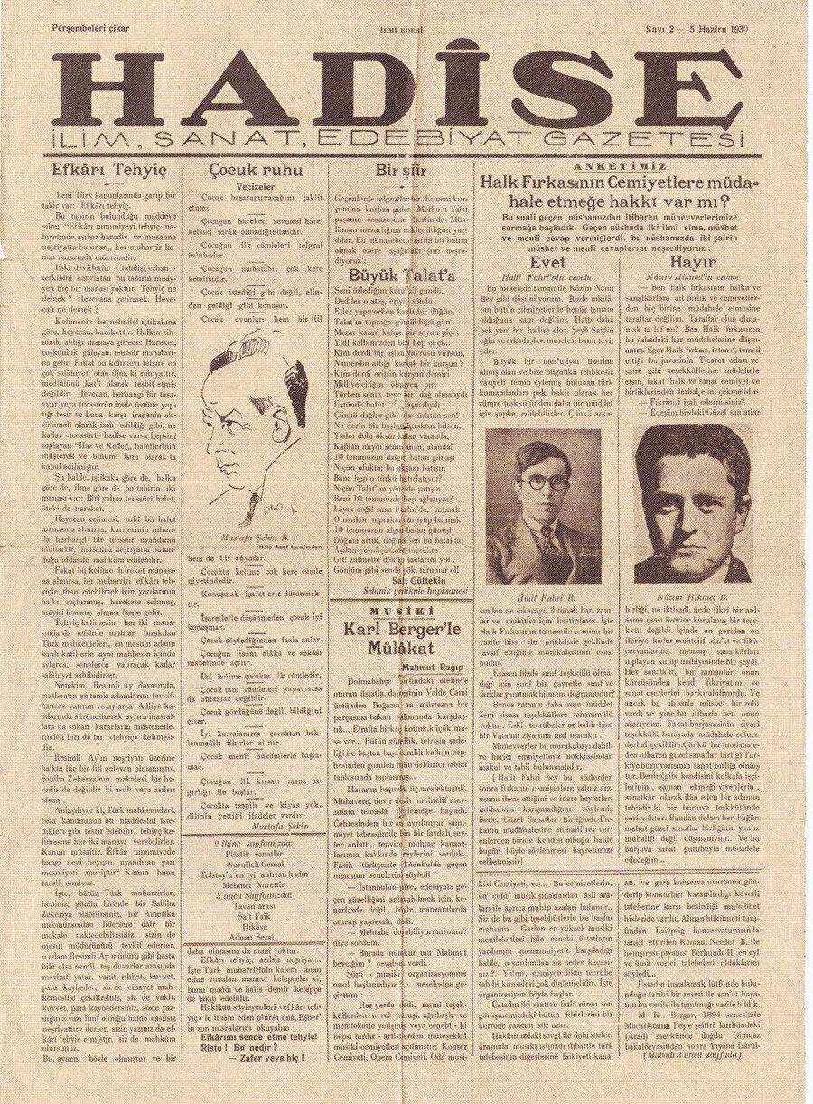 Hadise Gazetesi
