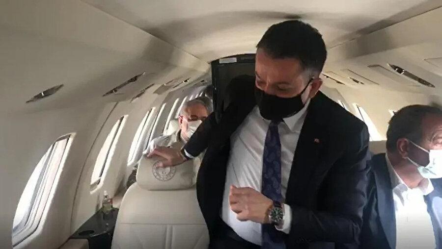 Uçak içinden görüntü