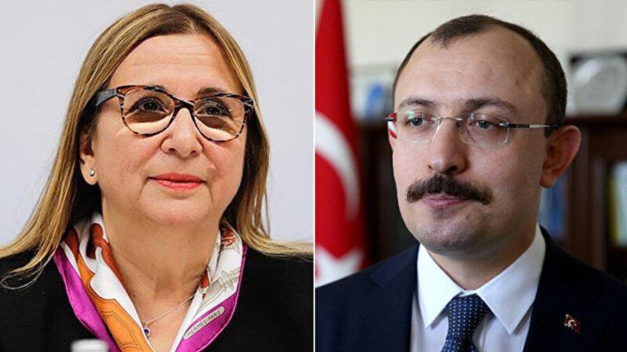 Ruhsar Pekcan, AK Parti İstanbul Milletvekili Mehmet Muş