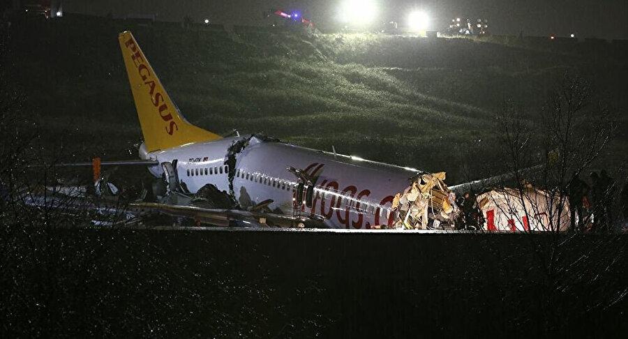 Sabiha Gökçen Havalimanı'ndaki faciada 1 kişi ölmüş 177 kişi yaralanmıştı
