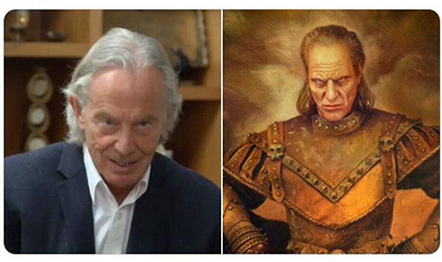 Blair'in benzetildiği karakterlerin biri