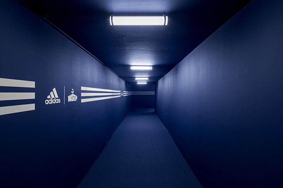Her yüzü mavi koridor.