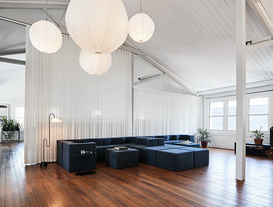 Foolscap Studio'nun The Cloud adlı ofisinde yer alan Soufflé.