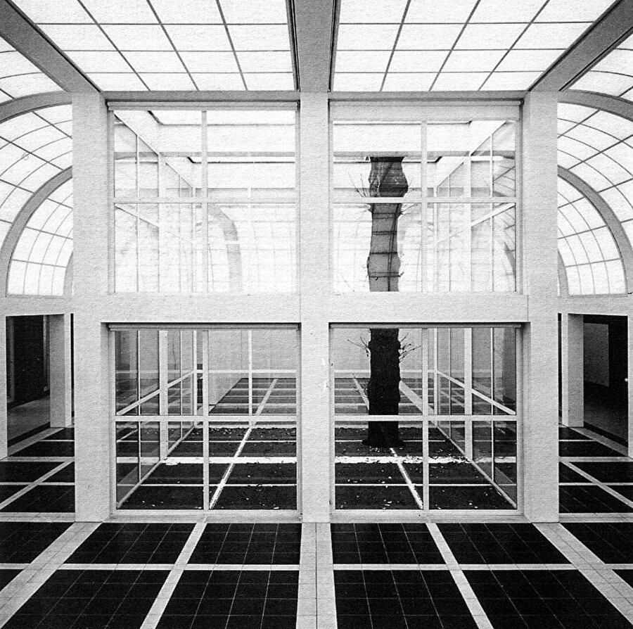 Deutsches Architekturmuseum, Alman Mimarlık Müzesi, Frankfurt, Almanya.