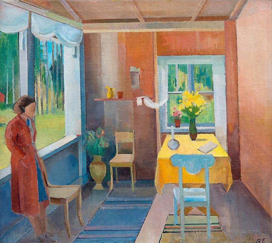 Ragnar Ekelund, 1892 - 1960, Interior.