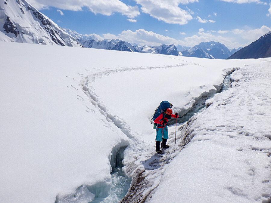 Kar leoparlığı projesini öğrendikten sonra sürekli yüksek irtifaya gitmeye başladım.
