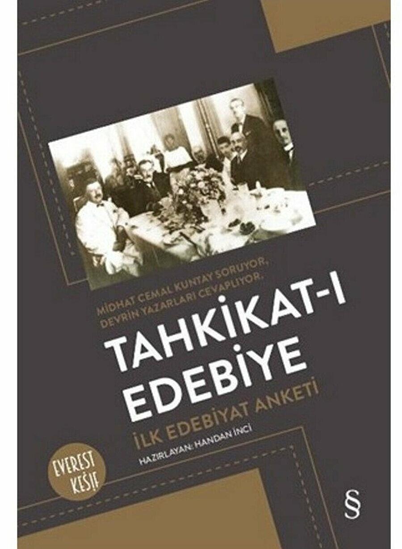 Tahkikat-ı Edebiye, Hazırlayan: Handan İnci, Everest Yayınları