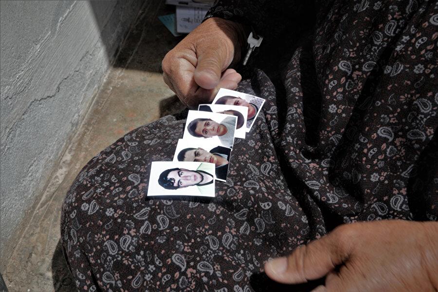 Uveyş Nine'nin kaybettiği oğlu ve yetim kalan torunları.
