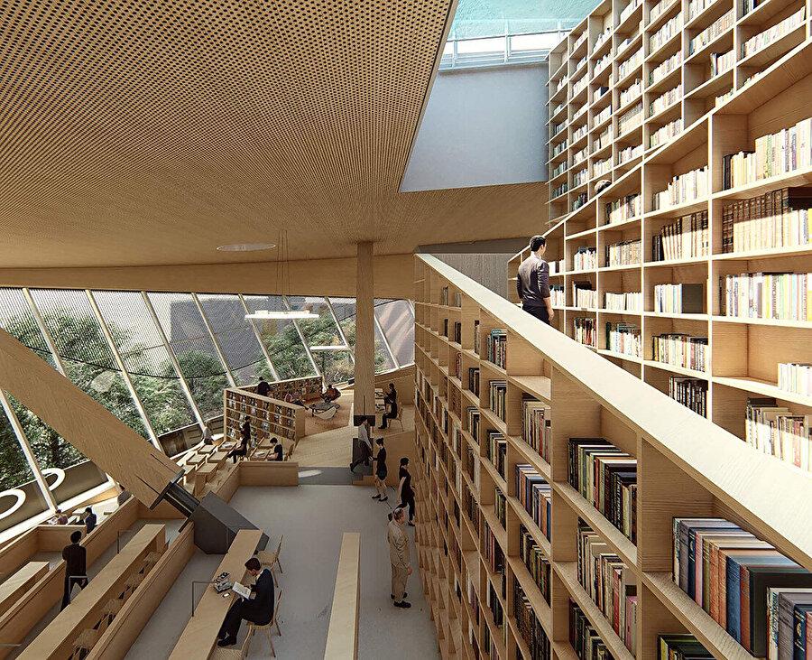 Ana kütüphane.