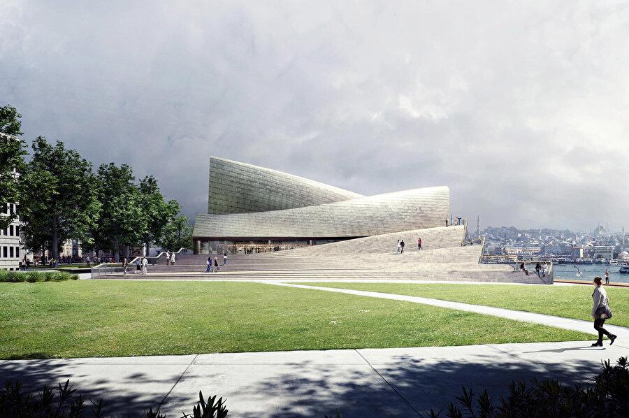 """Proje """"Mimari: Tasarlanmış Projeler"""" kategorisinde onur üyeleri ve eski kazananlar tarafından seçilen 10 ödül arasında yer alıyor."""