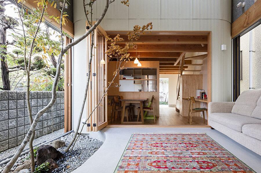 Ev, Japon tarzıyla tasarlanıyor.