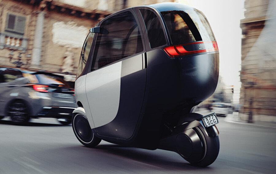 Tasarım, elektrikli olmasıyla karbon ayak izinin azalmasına katkı sağlıyor.