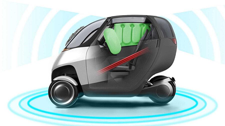 Nimbus, özel olarak tasarlanan teknolojilerle donatılıyor.