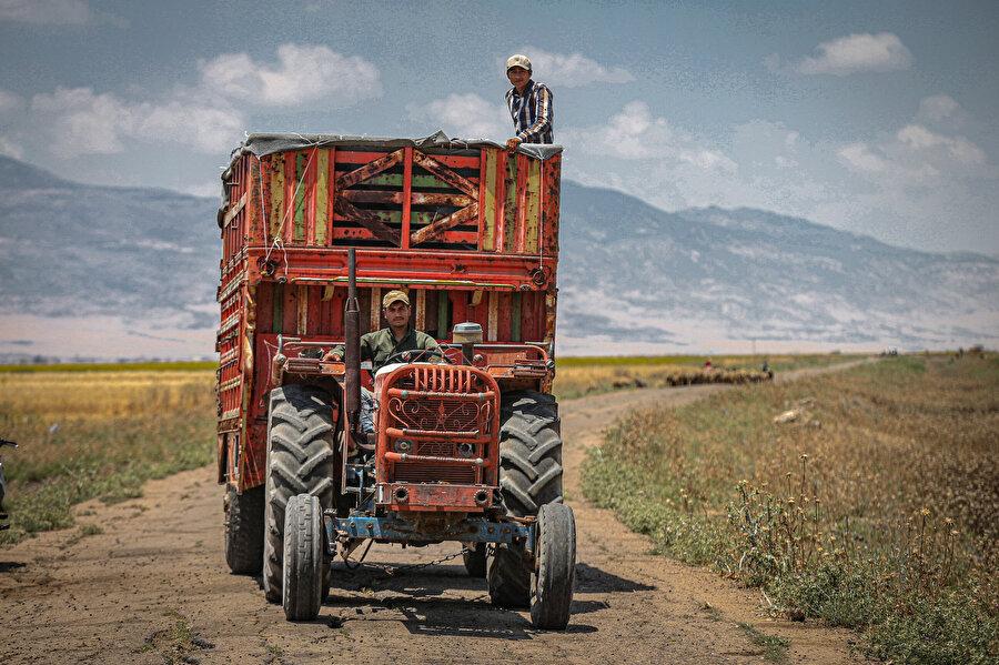 İdlibli çiftçiler.