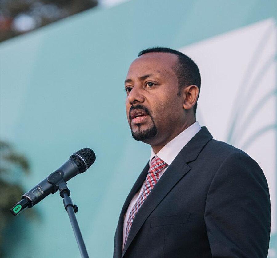 Etiyopya Başbakanı Abiy Ahmed, 31 Mayıs'ta 31 Mayıs'ta ülkesinin, farklı bölgelerinde 100'ü aşkın baraj inşa edeceği açıklamıştı.