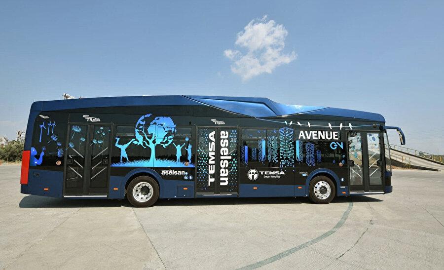 Mazotlu bir otobüsün günlük maliyeti 1500 TL iken elektrikli otobüsün maliyeti 90 TL