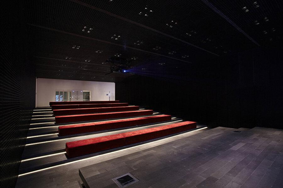 SALT Kültür Merkezi Sinema salonu tasarımı.