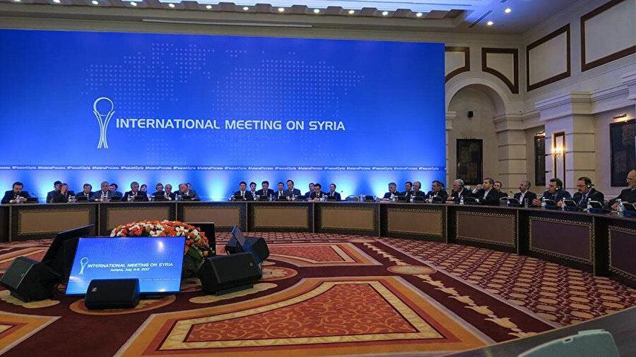 2017 yılında yapılan Astana Toplantısı.