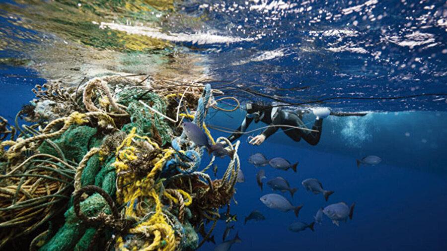 Balıkçılık ürünleri de okyanustaki kirliliğin en büyük nedenlerinden