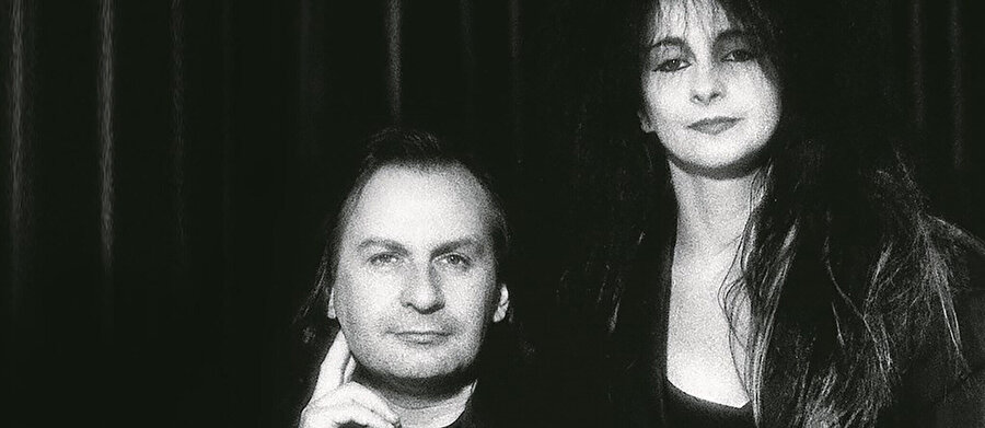 Benoît Cornette ve Odile Decq.