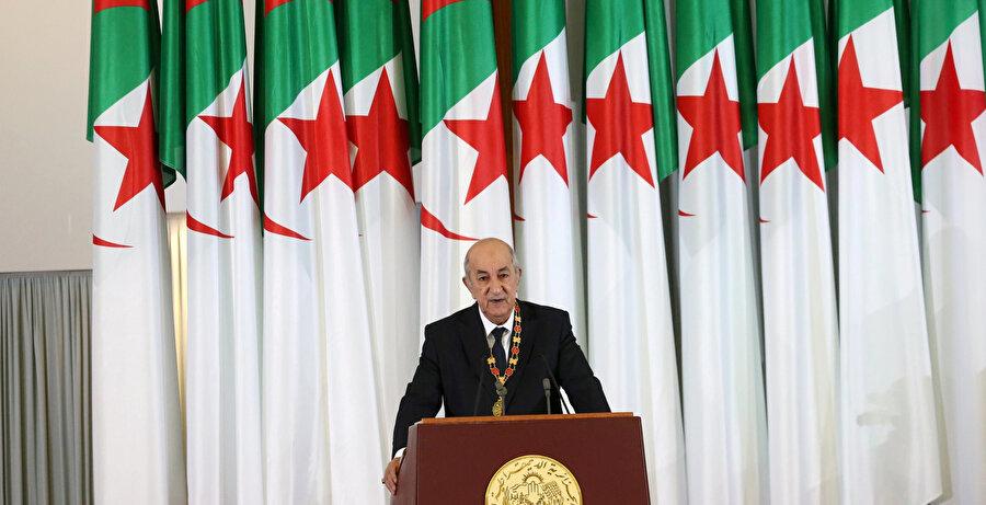 Cezayir Cumhurbaşkanı Abdulmecid Tebbun.