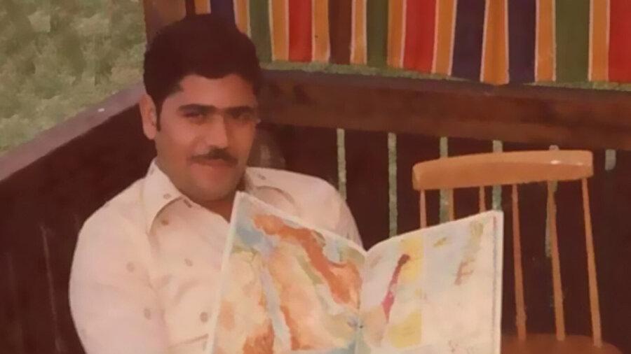 Mursi'nin gençlik yıllarından bir kare.