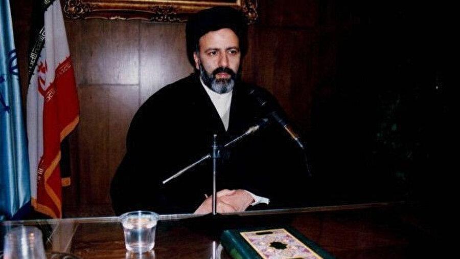 Reisi, 2004 yılında Yargı Erki Başkanı Birinci Yardımcısıyken.