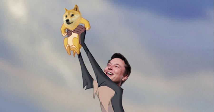 Dogecoin, Musk'ın desteğiyle yükselişe geçmişti