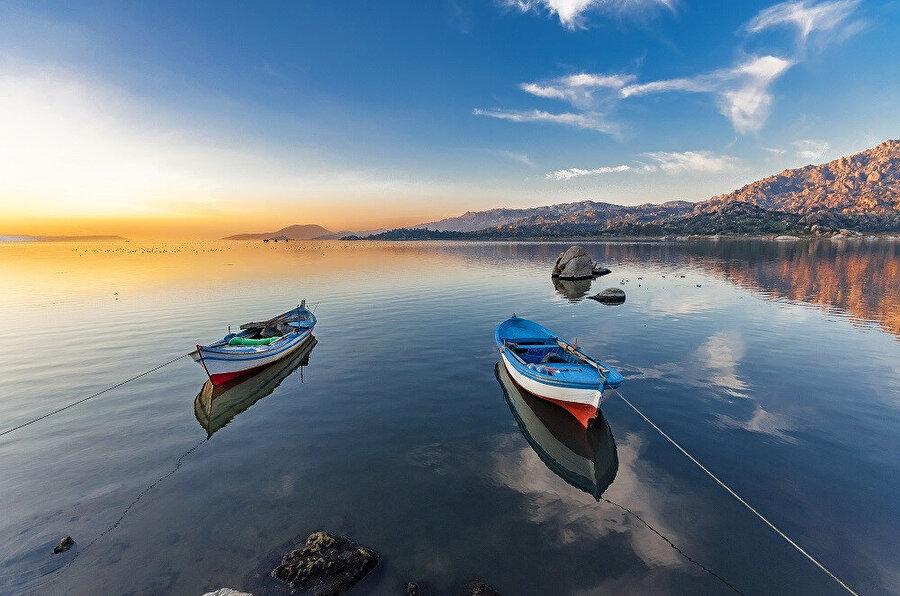 Bafa Gölü.