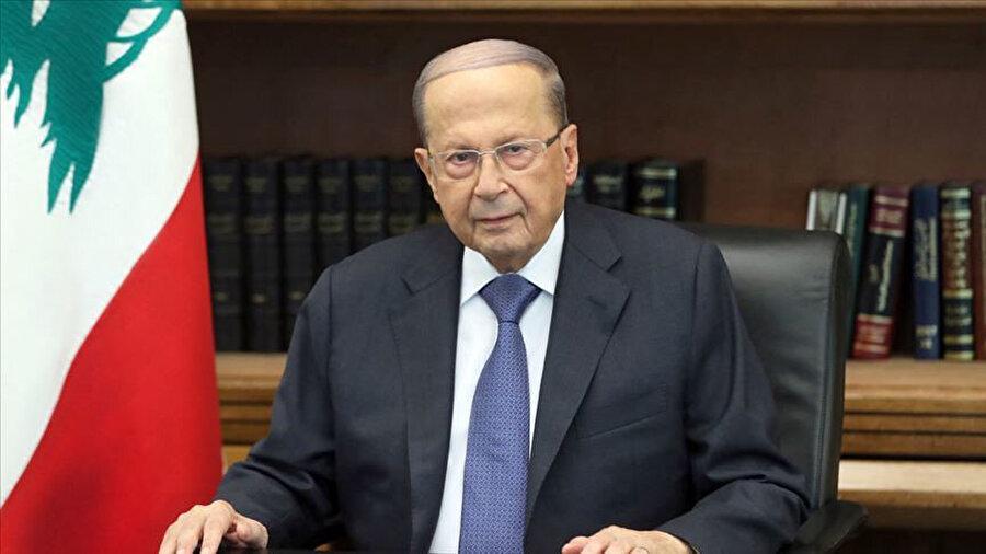 Lübnan Devlet Başkanı Mişel Avn.