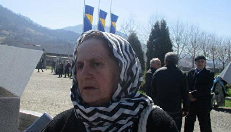 Srebrenitsa Kadınlar Derneği Başkan Yardımcısı Nura Begovic.
